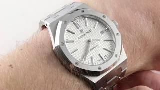 Audemars Piguet Royal Oak 15400ST.OO.1200ST.01 Luxury Watch Review