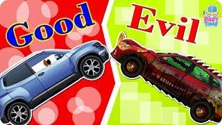Good Vs Evil Luxury Cars Animated Video #w Bed Time Story | Helping SUV