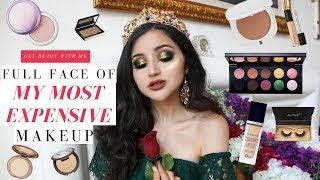 FULL FACE OF STUPIDLY EXPENSIVE MAKEUP | Chatty GRWM Testing Luxury Makeup + New Releases