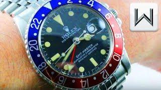 "Vintage Rolex GMT-Master ""Pepsi"" (1675 ) Luxury Watch Review"