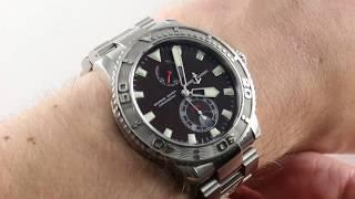 Ulysse Nardin Maxi Marine Diver Chronometer 263-33-7/95 Luxury Watch Review