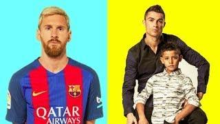 Messi VS Ronaldo ★ Who's Family Better