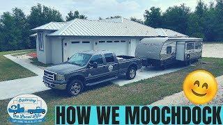 Our Moochdocking Setup - How to Moochdock - RV Driveway Surfing - RV Life