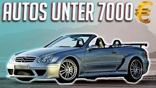 Die besten Autos für unter 7000€