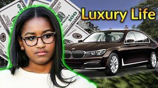 Sasha Obama Luxury Lifestyle | Bio, Family, Net worth, Earning, House, Cars