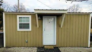 Luxury Cabin Tiny Living for sale Has Laundry Room