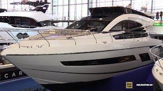 2019 Fairline Squadron 53 Luxury Yacht - Deck and Interior Walkaround - 2019 Boot Dusseldorf
