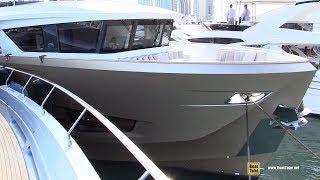 2019 Numarine 26 XP Luxury Yacht - Interior Deck and Bridge Walkthrough - 2019 Miami Yacht Show