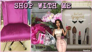 SHOP WITH ME: MARSHALLS | SUPER GIRLY GLAM | SPRING LUXURY HOME DECOR FINDS & IDEAS | APRIL 2018