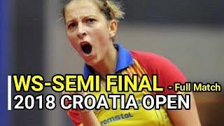 SAMARA Elizabeta (ROU) Vs NI Xia Lian (LUX) [WS-SF] 2018 CROATIA OPEN - Full Match/HD1080p60