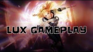 جربت لعبة جديدة|League of Legends Lux Gameplay|ليج اوف ليجيندز