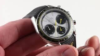 Omega Speedmaster Racing Co-Axial Chronograph 326.32.40.50.04.001 Luxury Watch Review