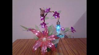 Best Craft Idea Out Of Waste Plastic Bottles ll Amazing Room Decor ll DIY Art & Craft Idea