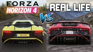 Forza Horizon 4 vs REAL LIFE Engine Sounds Comparison! - BEST Sounding Cars in the Game!