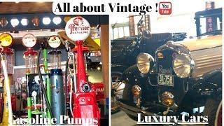 All About VINTAGE.......1915 Luxury cars, Gasoline Pumps etc!!!