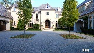 Hinsdale Illinois Luxury Estate - DroneHub