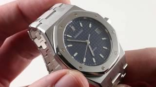 Audemars Piguet Royal Oak 14790ST/O/0789ST/09 Luxury Watch Review