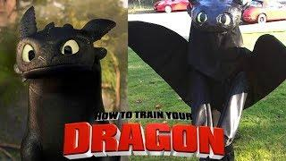How to Train Your Dragon ALL Characters in Real Life