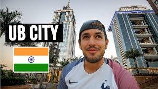 Foreigner reacts to UB CITY MALL in Bangalore | India's first LUXURY MALL