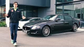Maserati Quattroporte GTS Friday Drive (2010)