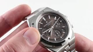 Vacheron Constantin Overseas Chronograph 5500V-110A-B147 Luxury Watch Review