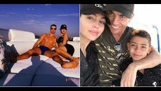 Cristiano Ronaldo and fiancée on luxury yacht as they celebrate New Year in Dubai