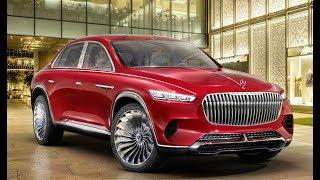 2020 Mercedes-Maybach Ultimate Luxury SUV concept