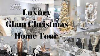 Glam Christmas Home Tour 2018 Luxury Winter Wonderland