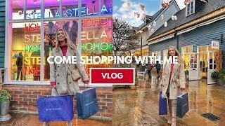 COME LUXURY SHOPPING WITH ME // BICESTER VILLAGE DESIGNER OUTLET HAUL JANUARY WINTER 2019 VLOG