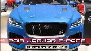 2019 Jaguar F-Pace SVR - Exterior and Interior - 2018 LA Auto Show