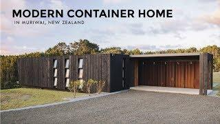 Muriwai Maersk: Luxury Modern Container Home in New Zealand