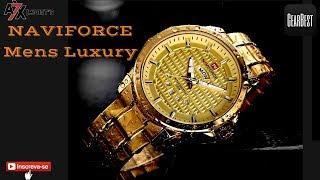 "NAVIFORCE Mens Luxury ""Primeiras impressões"""