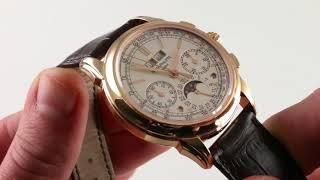 Patek Philippe Grand Complication 5270R-001 Luxury Watch Reviews