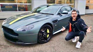 I FINALLY BOUGHT AN ASTON MARTIN!!