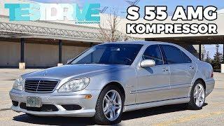 Supercharged Luxury Missile | 2003 Mercedes Benz S 55 AMG | TestDrive Spotlight