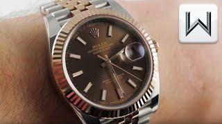 Rolex Datejust 41 Jubilee Everose Steel  (126331) Luxury Watch Review