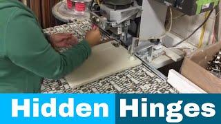 Hidden Door Hinges Installation - Luxe luxury fifth wheels