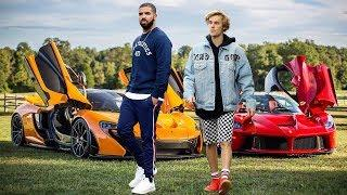 Drake's Cars vs Justin Bieber's Cars 2018 | Who has the best cars?