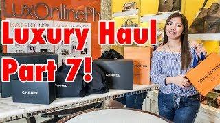 Luxury Haul 2018 Part 7! OMG Chanel Overload! ????