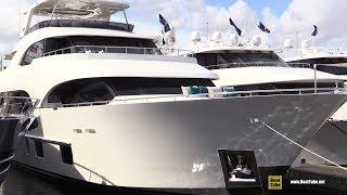 2019 Ocean Alexander 112 Luxury Super Yacht - Deck Interior Walkaround - 2018 Fort Lauderdale Boat