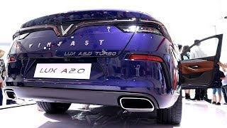 Vinfast Lux A2.0 (Luxury Blue) | Vietnam Motor Show 2019