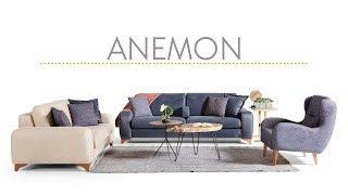 Anemon Koltuk Takımı Luxe Life Mobilya