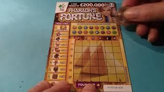 Scratchcard Holiday Special..New SUPER 7's..Cash Word...Luxury Lines ..Pharaoh's .etc