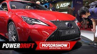 2019 Lexus RC Coupe : Luxury meets sporty : Paris Motorshow : PowerDrift