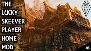 THE LUCKY SKEEVER: Luxury Apartment Player Home- Xbox Modded Skyrim Mod Showcase