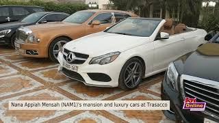 Eeii MENZGOLD ~ Nana Appiah Mensah NAM1's Mansion And Luxury Cars At Trasasaco