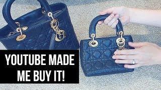 YOUTUBE MADE ME BUY IT! | Luxury Handbags | Chicprofessor