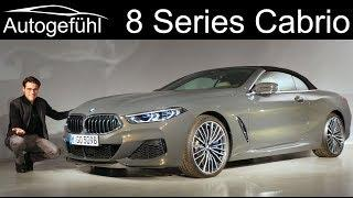 BMW 8-Series Cabriolet REVIEW Exterior Interior 8er Cabrio - Autogefühl
