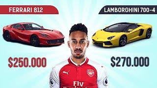10 Most Expensive And Luxurious Cars Owned By Aubameyang