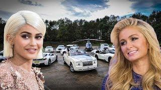Kylie Jenner's Luxury Cars VS Paris Hilton's Luxury Cars -2018